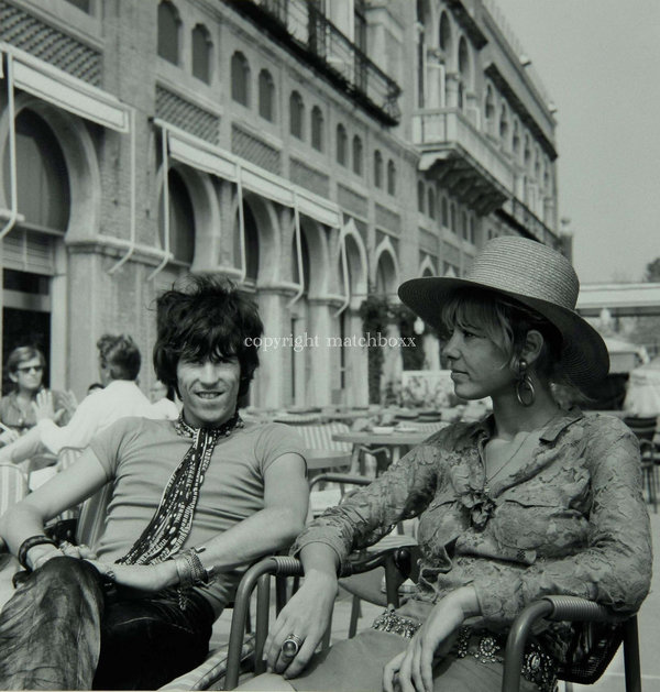 Keith Richards with Anita Pallenberg, 1967